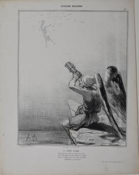 La Chute d'Icare, Plate 31 from l'Histoire ancienne