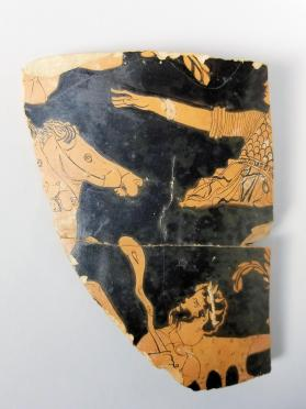 Fragment of a Red-figure calyx-krater