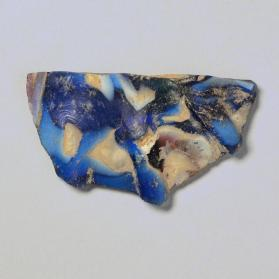 Base fragment of a shallow bowl