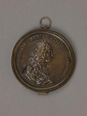 Medal, Portrait of Vincenzo Viviani and Allegoical Reverse