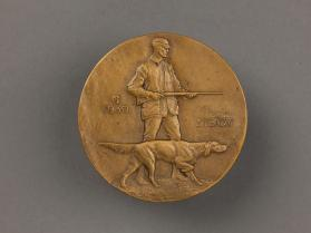 """Hunter - Ruffled Grouse"" medal"