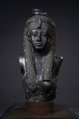 Sculpture, probably of Cleopatra VII