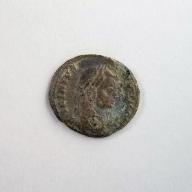 Coin of Licinius II, denomination uncertain: AE2, AE3
