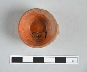 Base fragment of a Samian ware cup