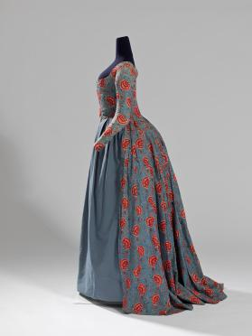 Overdress of a woman's robe à l'anglaise