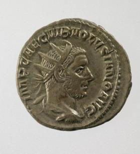 Antoninianus coin of Volusianus