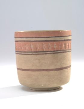 Beaker with banded decoration