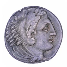 Tetradrachm of Alexander III as Herakles
