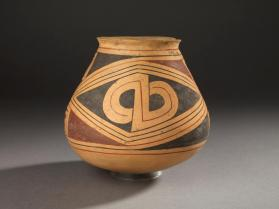 Babicora-Style Polychrome Jar with Double-P Motif