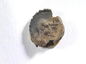 Seal impression of male and female busts