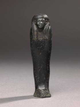 Uninscribed funerary statuette