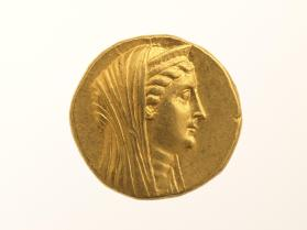 Octadrachm of Arsinoe II