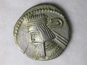 Drachm coin of Artabanus II