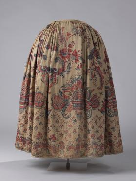 Petticoat (skirt) of a woman's dress