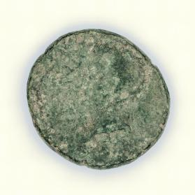 Coin with bust of Tiberius