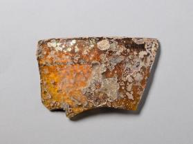 Rim fragment from a bowl