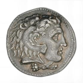Tetradrachm of Alexander the Great as Herakles