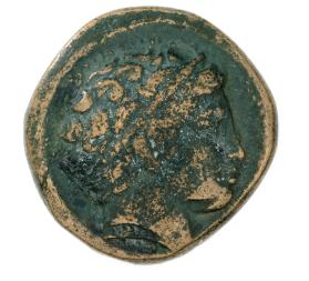 Unit coin with head of Apollo