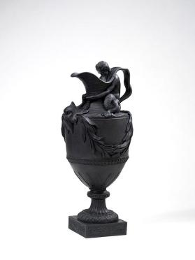 Ornamental ewer emblematic of water