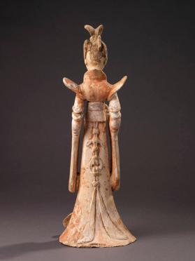 Burial figure of a female entertainer