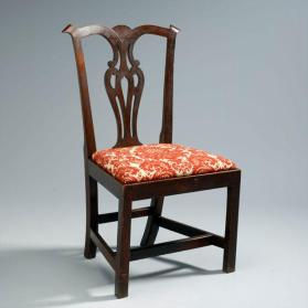 Side chair in Chippendale style