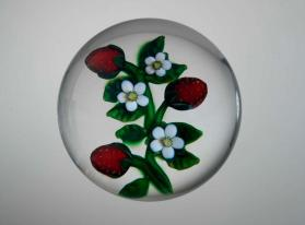 Paperweight, Strawberries