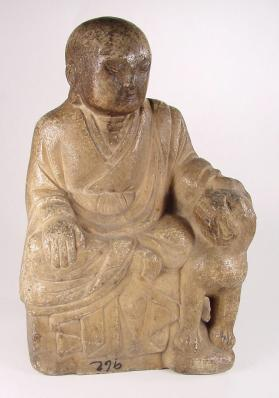 Figure of a luohan