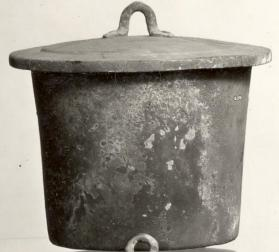 Lid of a cooking vessel