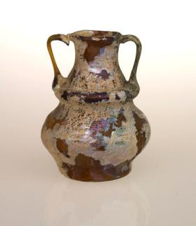 Small two-handled flagon