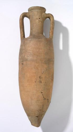 Wine amphora, an elongated variant of Dressel form 2