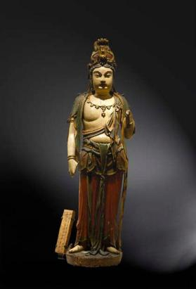 Wood figure of Avalokiteshvara (Guanyin)