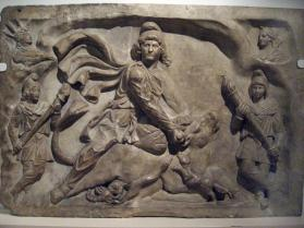 Mithraic relief