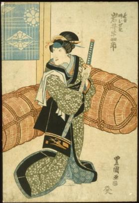 Iwai Hanshirō in female role