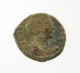 Commemorative coin of Theodora, wife of Constantine II