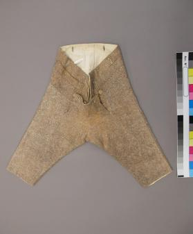 Trousers of infant boy's skeleton suit
