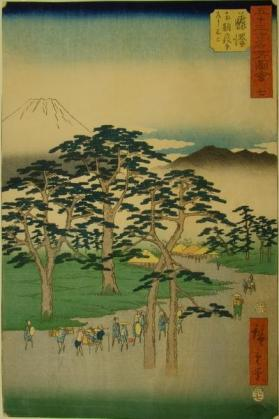 From the series '53 Famous Views of the Tokaido'