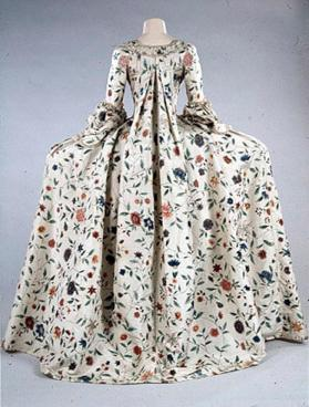 Woman's 2-piece dress (robe à la française)