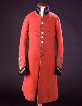 Chief's coat, issued by British Army