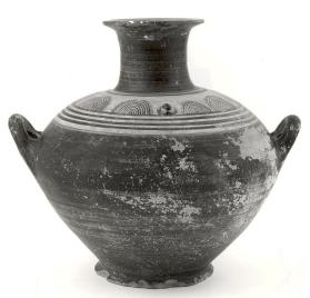 Belly-handled amphora of Mycenaean ware