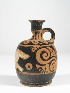 Squat red-figure lekythos