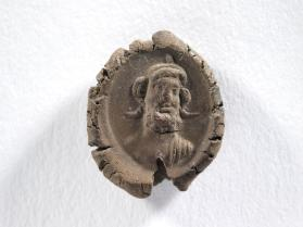 Seal impression with bust of Ammon
