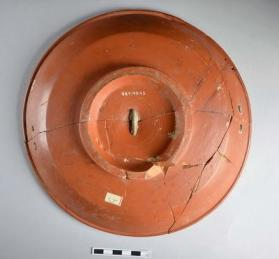 Large Samian ware plate
