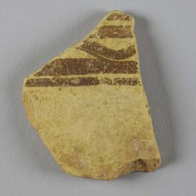 Matt-painted ware vessel fragment