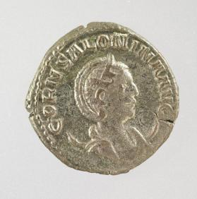 Antoninianus with Salonina, wife of Gallienus