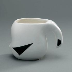 "Cup in ""Ptarmigan"" pattern"