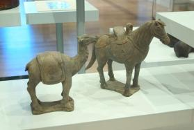 Burial figure of a camel