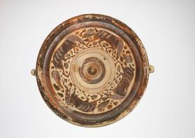 Italo-Corinthian style dish with animal friezes