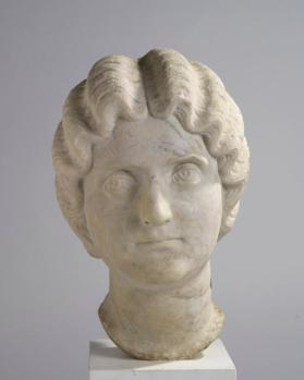 Head of a noble Roman woman