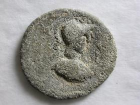 Token with bust of Athena