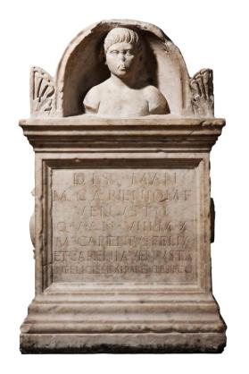 Grave monument of M. Carienius Venustus